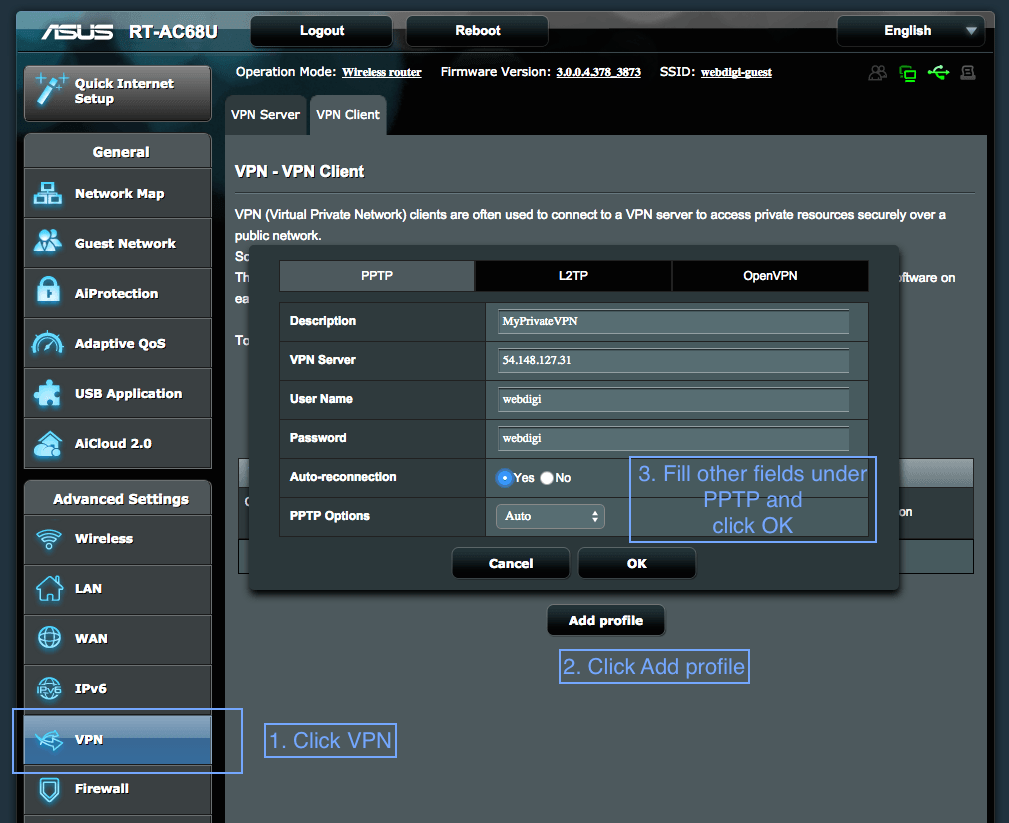 setting up a vpn Virtual private networks (vpn) offer secure connections to access network resources and services across a public network qnap nas provides a vpn service for users to.