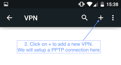 how to make your own vpn server on android