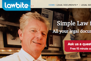 Lawbite an online legal service